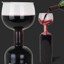 Verre de vin bouteil