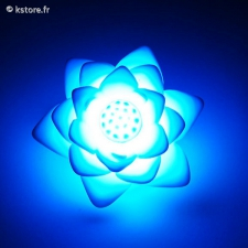 Mini lampe LED lotus