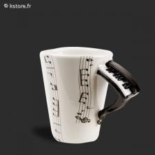 Tasse anse piano