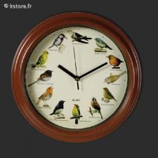 Horloge murale sous
