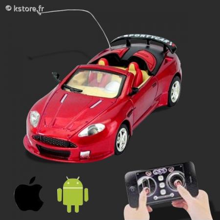 voiture t l command e sous android et ios. Black Bedroom Furniture Sets. Home Design Ideas