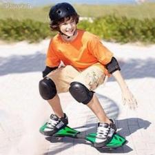 Skateboard à deux ro