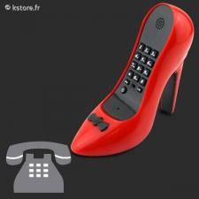 Téléphone fixe desig