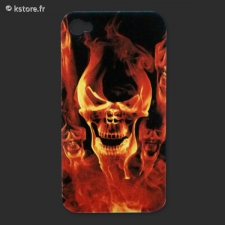 Coque rock iPhone 4