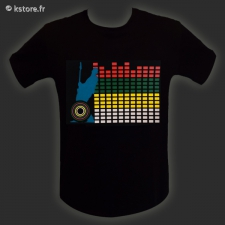 T-shirt interactif m