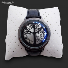 Montre LED tactile m