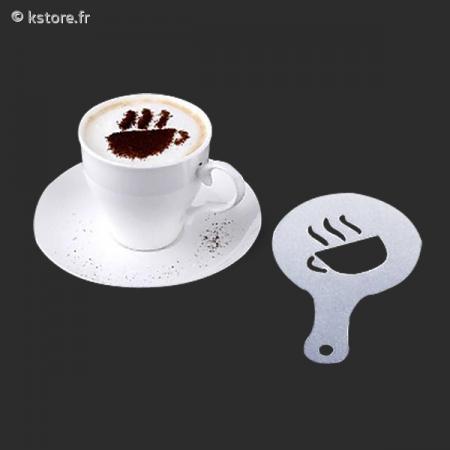 Dessin Tasse De Café Fumant 16 pochoirs dessin tasse de café fumant - kstore.fr
